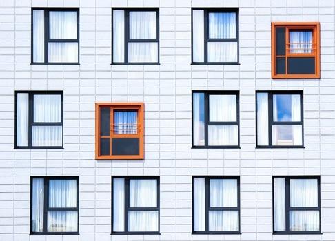 vinduer med farge